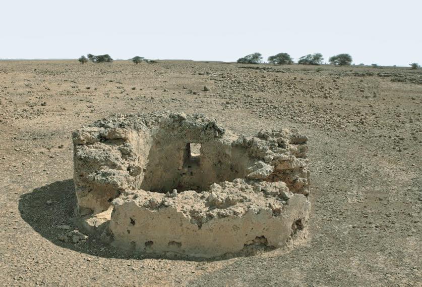 Sistemi di raccolta delle acque nelle isole Dahlac ( Mar Rosso) Pozzo-cisterna nei pressi del villaggio di Dahlak Kebir