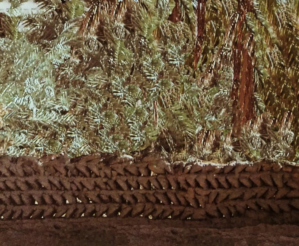 Sahara algerino - I metodi più arcaici di costruzione dei muri perimetrali, che proteggono le colture dai venti, utilizzano conci a prisma triangolare o a calotta semisferica
