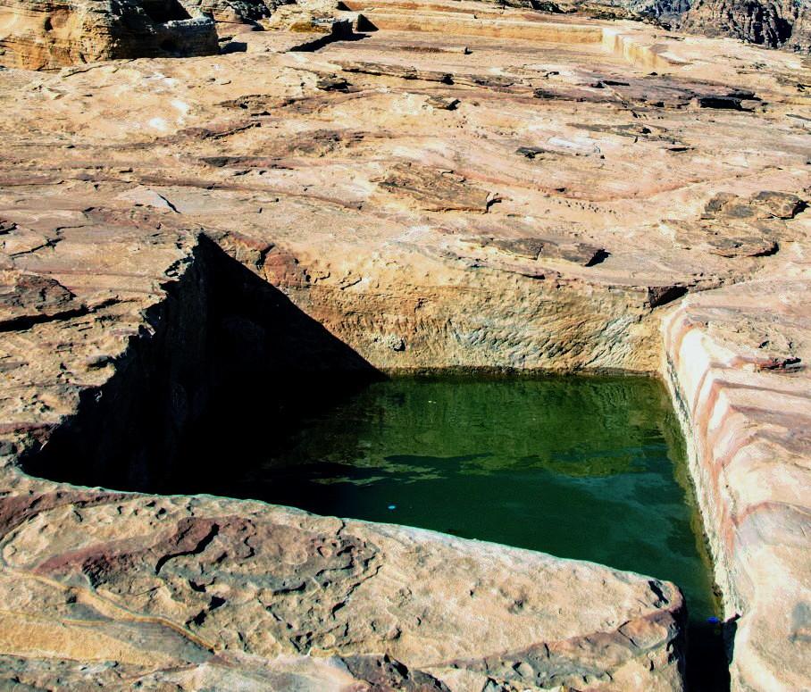Vasca di raccolta dell'acqua piovana