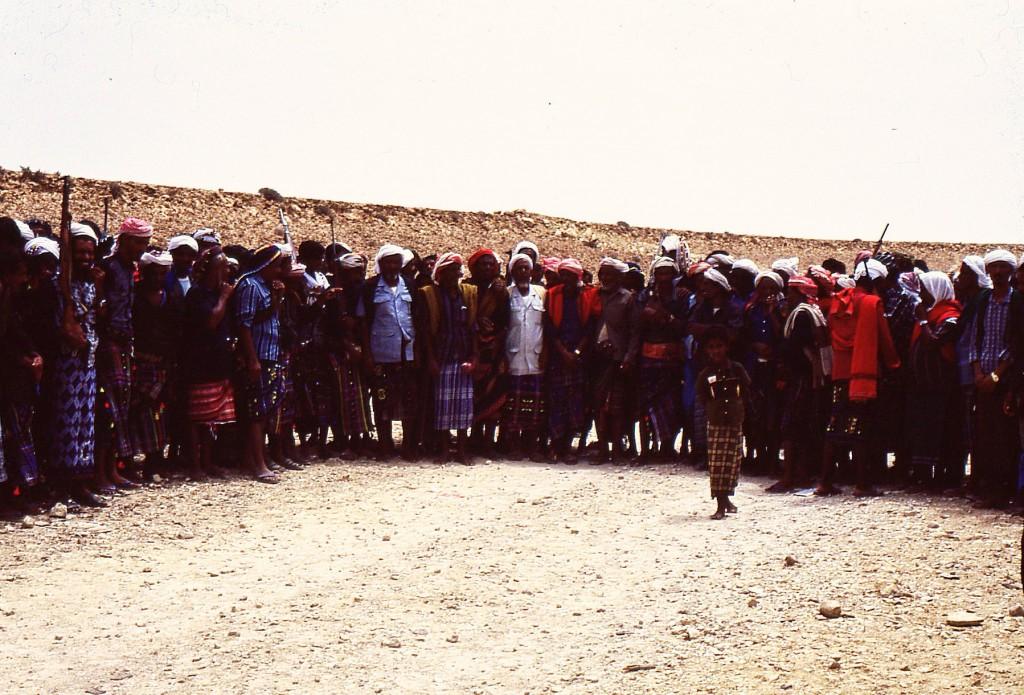 Danze rituali beduine tradizionali che si tramandano per generazioni