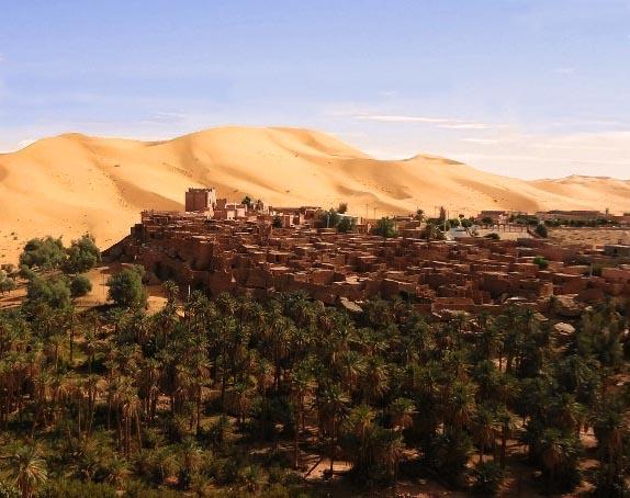 Oasi di Taghit (Algeria)