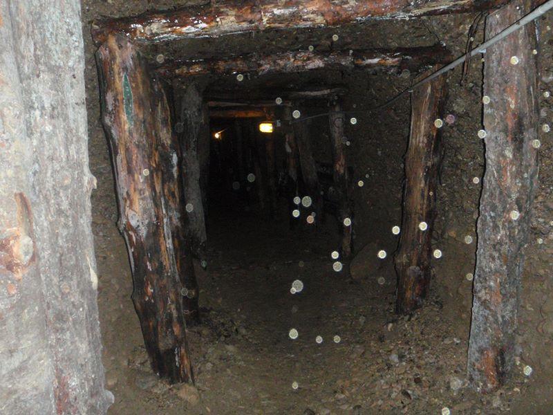 Il fenomeno degli ''orbs''all'interno del tunnel