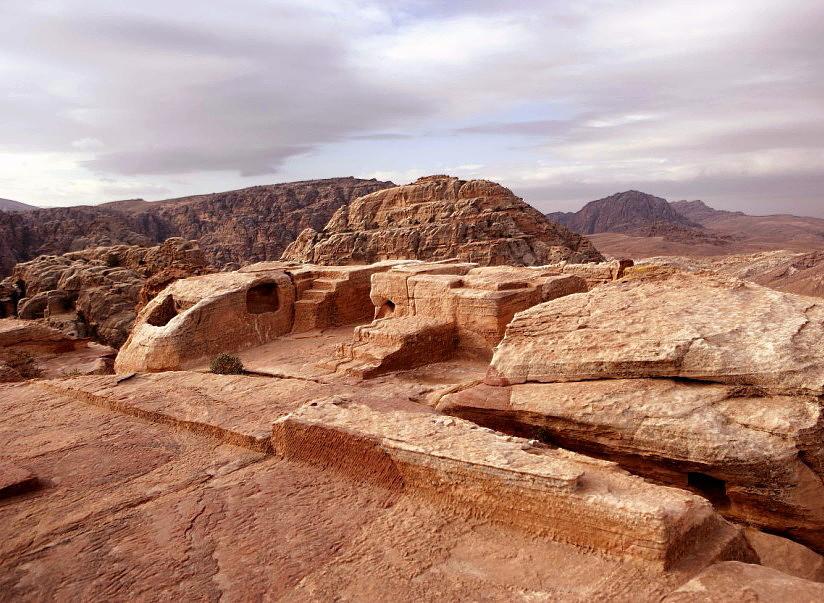 Il ''luogo elevato''di Petra