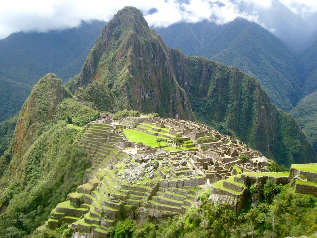 La città di Machu Picchu