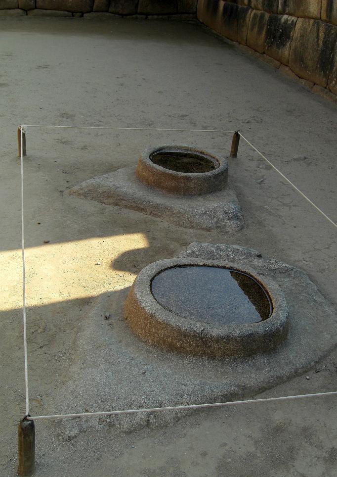 Il Gruppo dei Mortai con i due elementi circolari