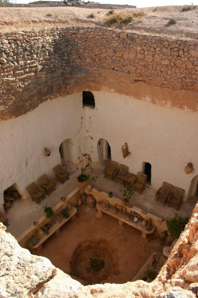 Corte a pozzo (Libia)