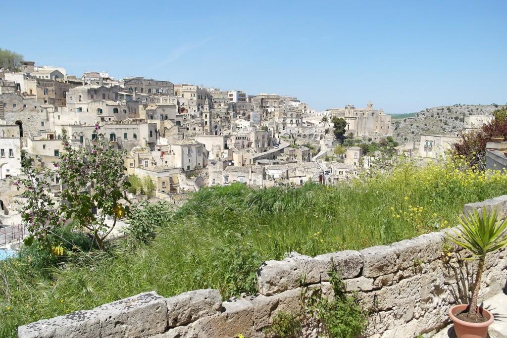 Giardini pensili a Matera
