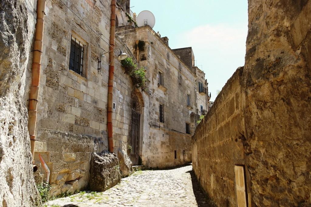 L'insediamento storico di Matera si è preservato grazie alle conoscenze locali