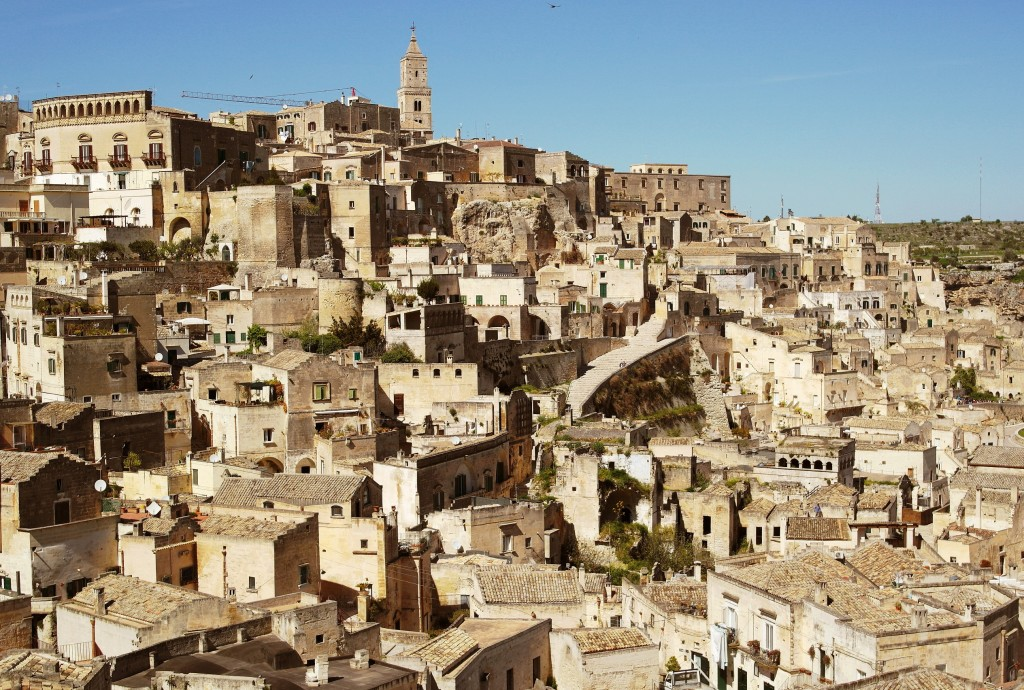 L'impianto urbano di Matera (Basilicata)