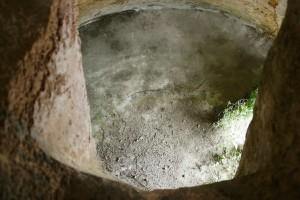 Interno di cisterna a campana