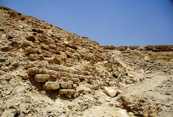 Resti della diga di Sadd el Kafara (Egitto)