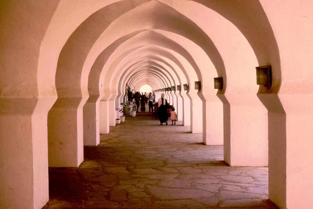 Giochi di luci e ombre dell'architettura algerina