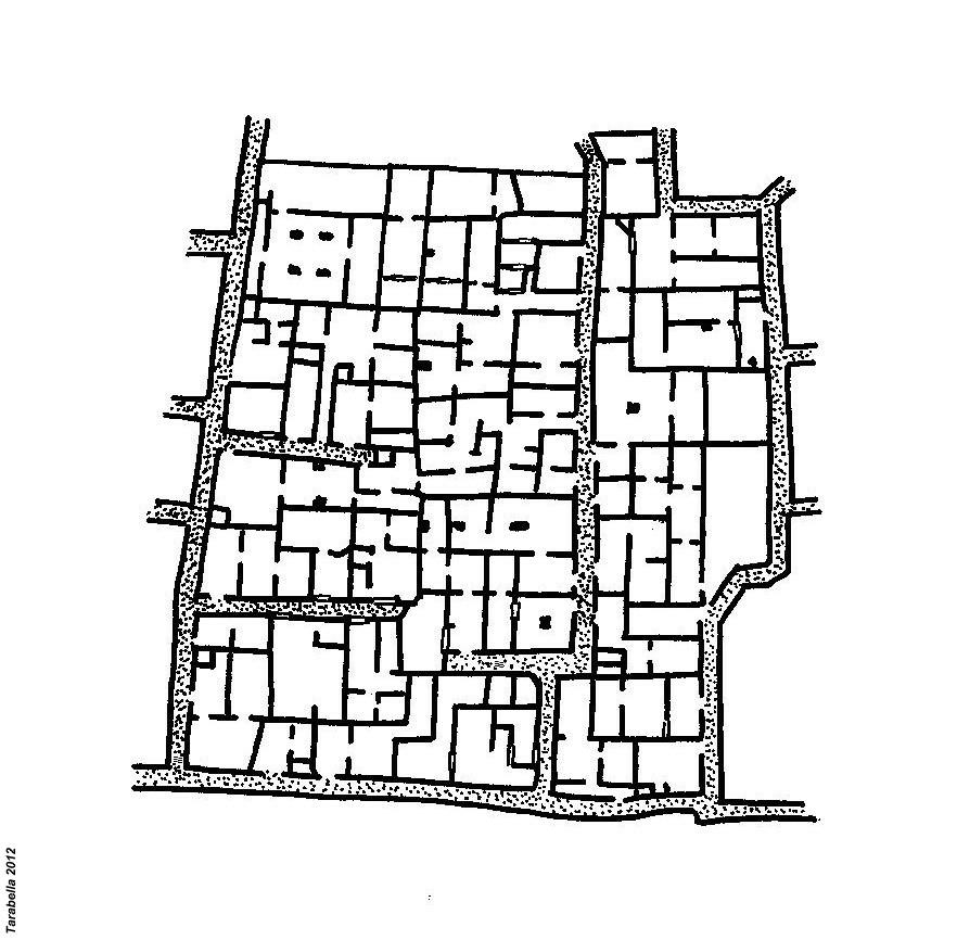 Planimetria dello ksar