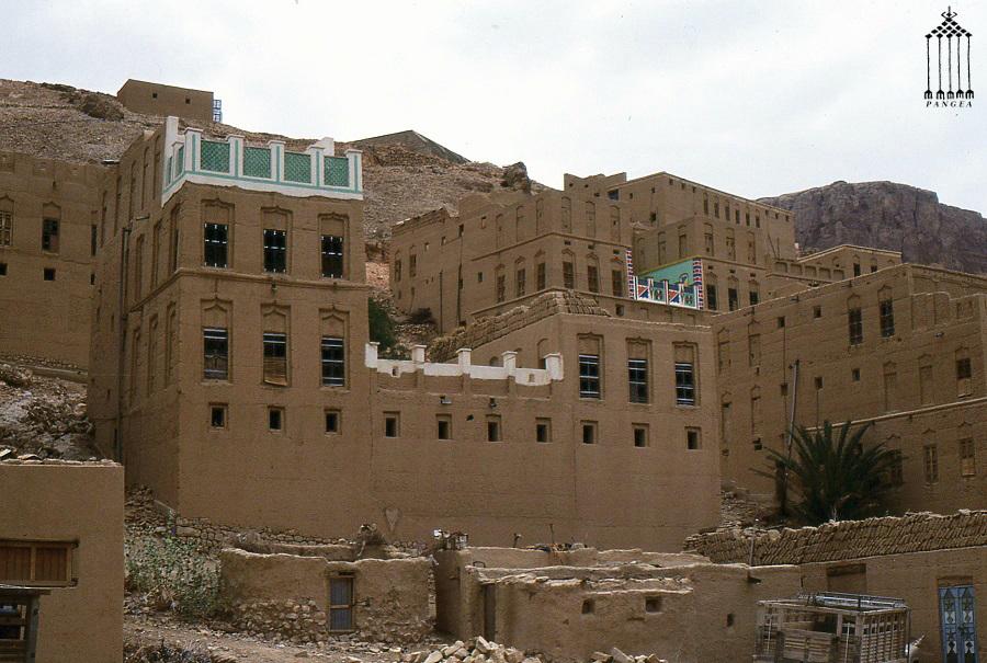 Hadramwt (Yemen) Abitazioni di terra cruda