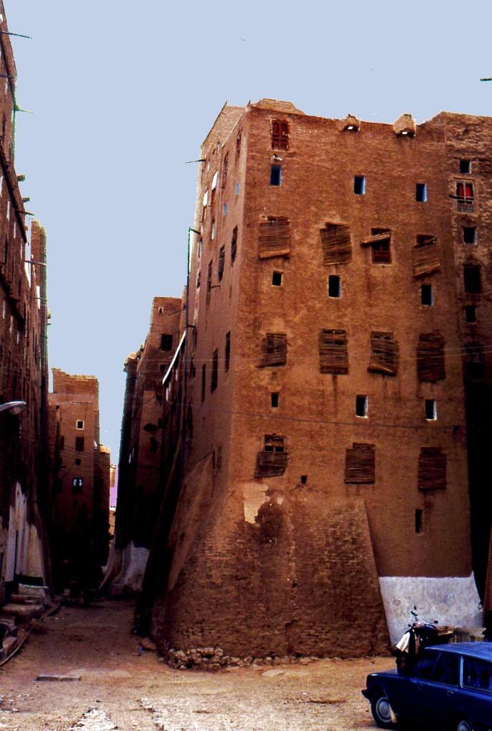 Casa a torre in terra-cruda a Shibam (Yemen)