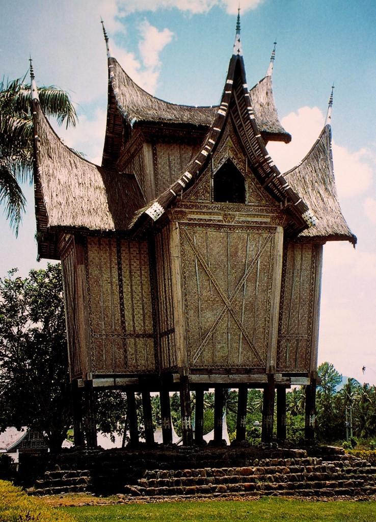 Deposito per il riso (Sumatra)