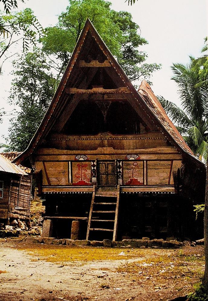 Casa batak ( Sumatra settentrionale)