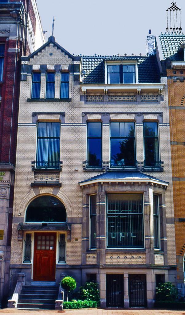 Abitazione tradizionale ad Amsterdam (Olanda)