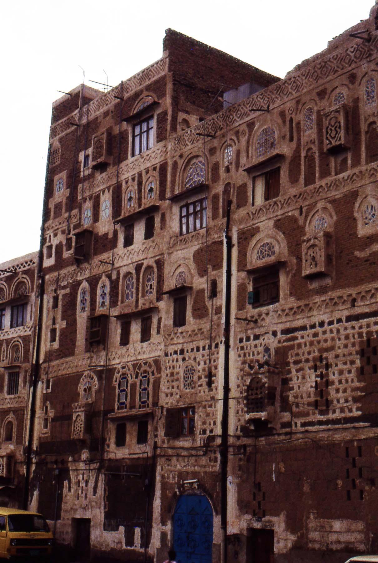 Sana'a - Abitazione tradizionale a torre
