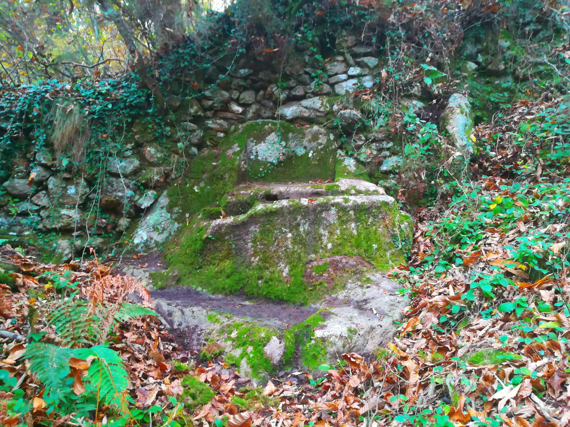Curiceta - Holy altar