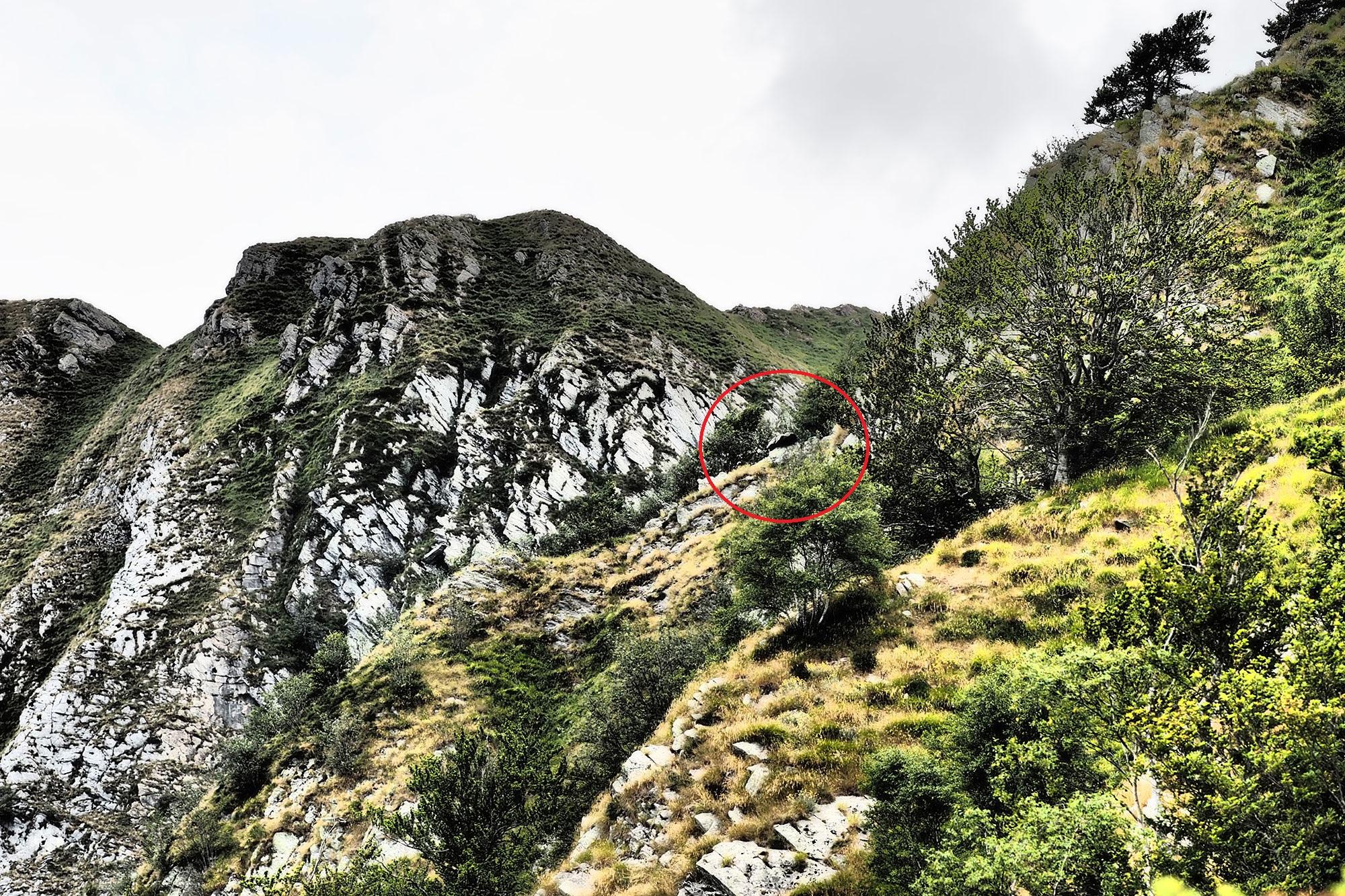 Landscape with dolmen