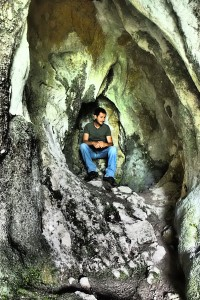 Lorenzo in the cave