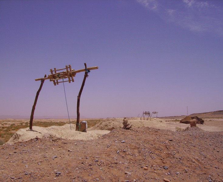 Sahara - The vertical wells