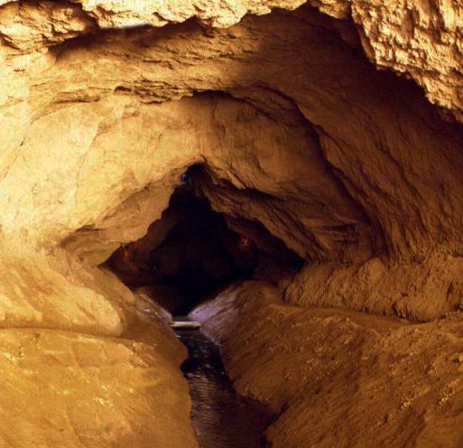 Interior of a foggara