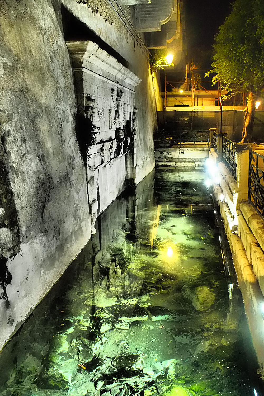 Siracusa (Sicily) Ortigia Island, water pool